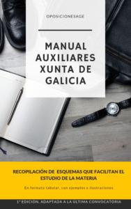 MANUAL AUXILIARES ADMINISTRATIVOS DE LA XUNTA DE GALICIA