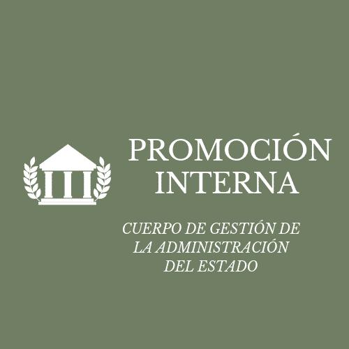 TEMARIO GESTIÓN DEL ESTADO PROMOCIÓN INTERNA