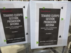 CUERPO DE GESTIÓN DE LA ADMINISTRACIÓN DEL ESTADO PROMOCIÓN INTERNA