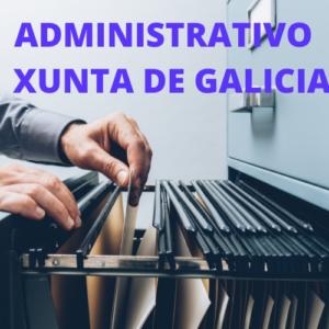 ADMINISTRATIVO XUNTA DE GALICIA